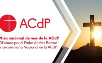 Misa del mes de la ACdP