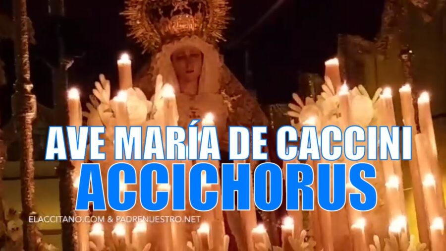 Ave María de Caccini interpretado por Accichorus