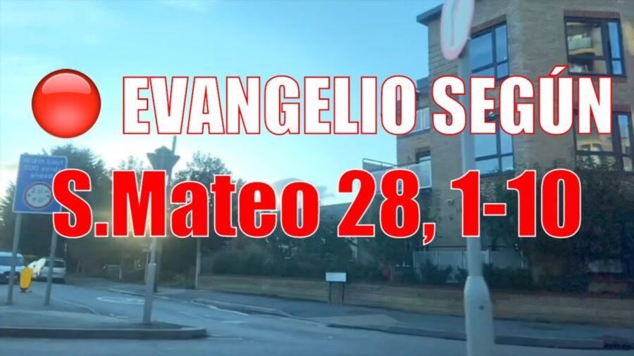 Evangelio según San Mateo 28 1-10