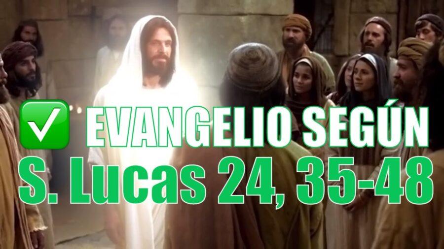 Evangelio según San Lucas 24,35-48