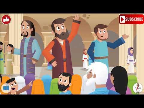 El DÍA de PENTECOSTÉS explicado para niños