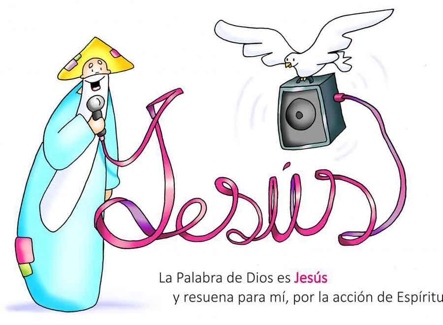 DIBUJOS para el sexto Domingo de Pascua