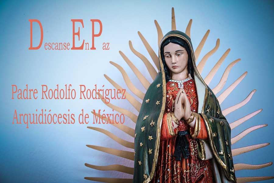 Fallecio Padre Rodolfo
