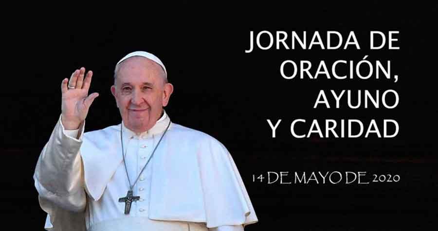 PAPA FRANCISCO Jornada de oración