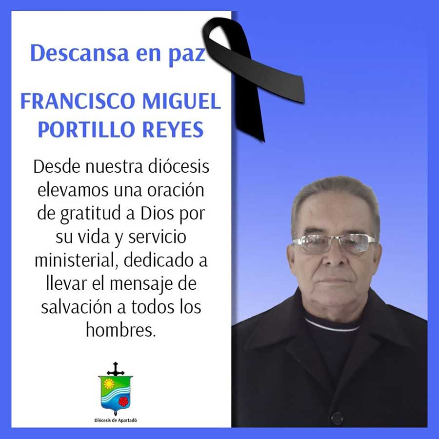 Fallece el sacerdote Francisco Miguel Portillo