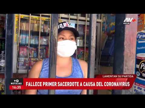Primer SACERDOTE que FALLECE en PERÚ por el Covid-19