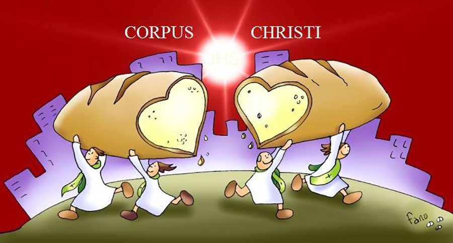 Corpus Christi Fano el pan
