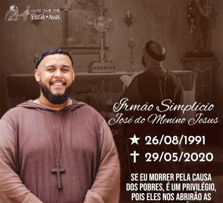 Fallece el Fraile Simplicio José