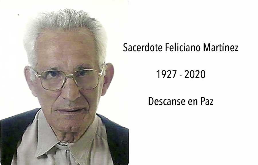 Fallece el SACERDOTE Feliciano Martínez Archaga