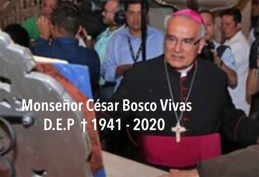 Monseñor César Bosco fallece