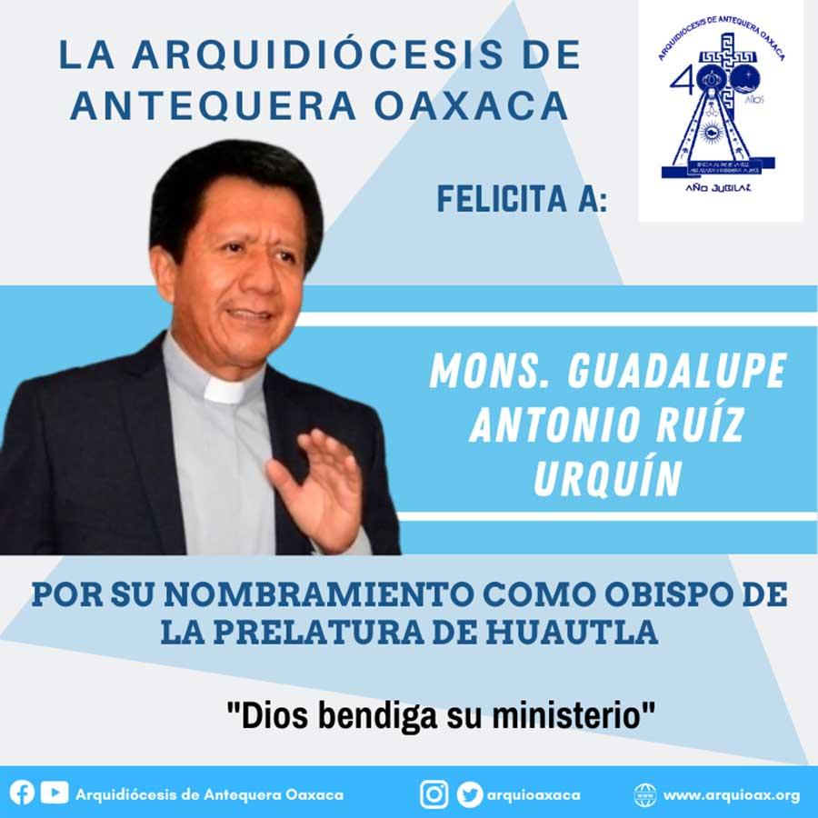 Monseñor Guadalupe Antonio Ruíz