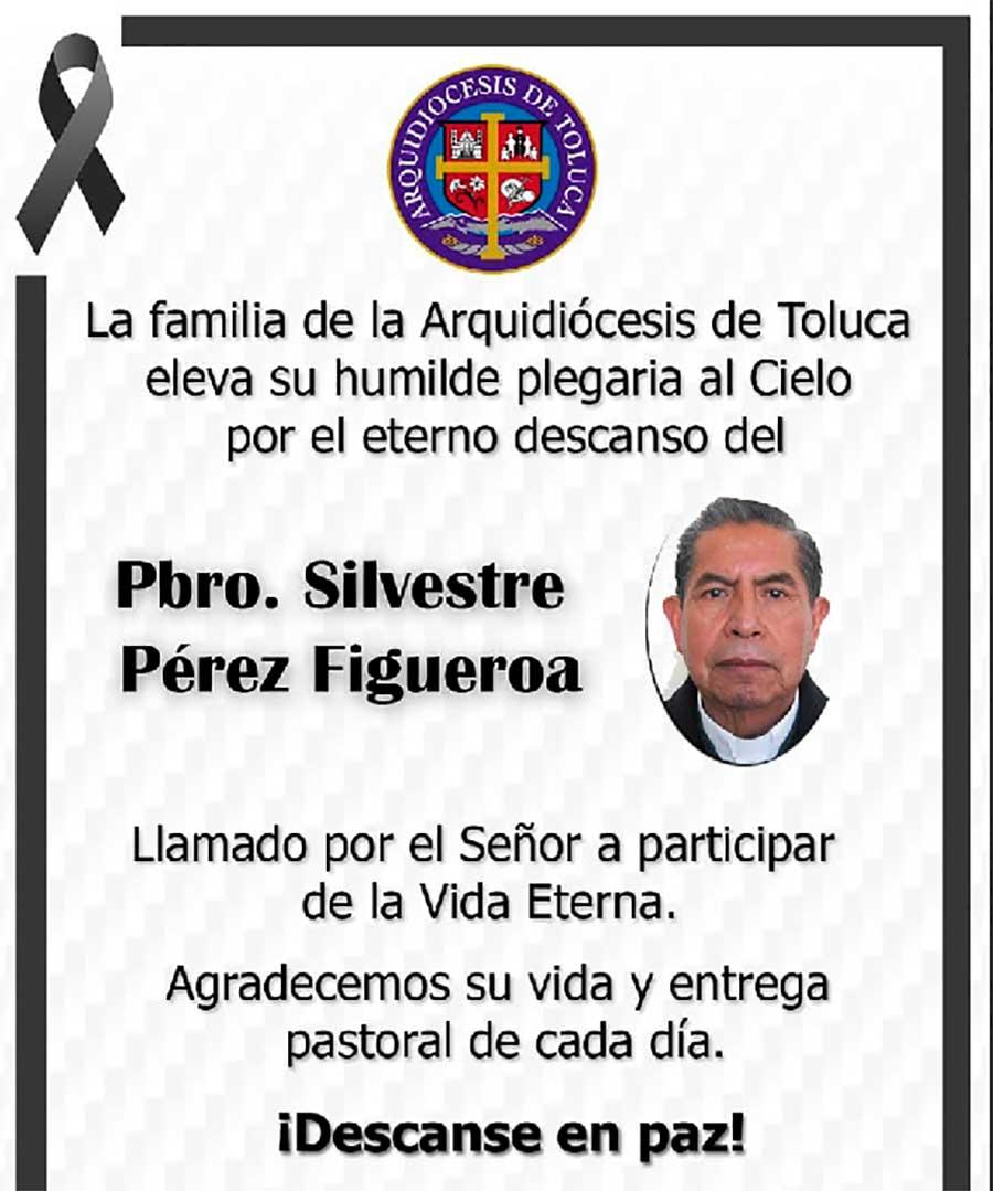 Fallece el Padre Silvestre