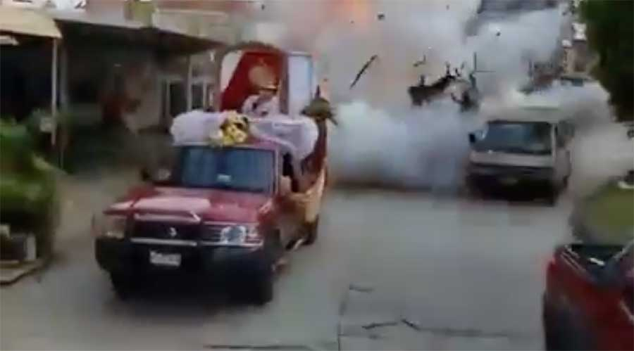 Trágica explosión procesión de Corpus