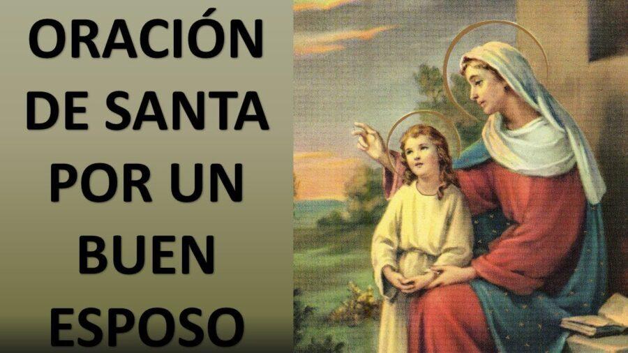 Oración de Santa Ana a Dios para pedir un buen esposo