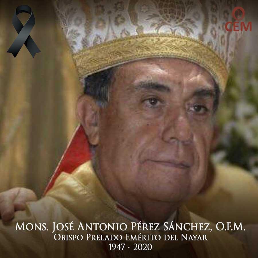 Fallece Monseñor José Antonio Pérez