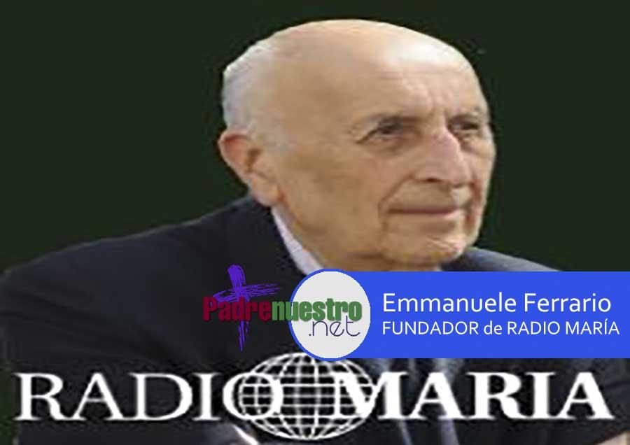 FALLECE Emanuele Ferrario, fundador de de Radio María