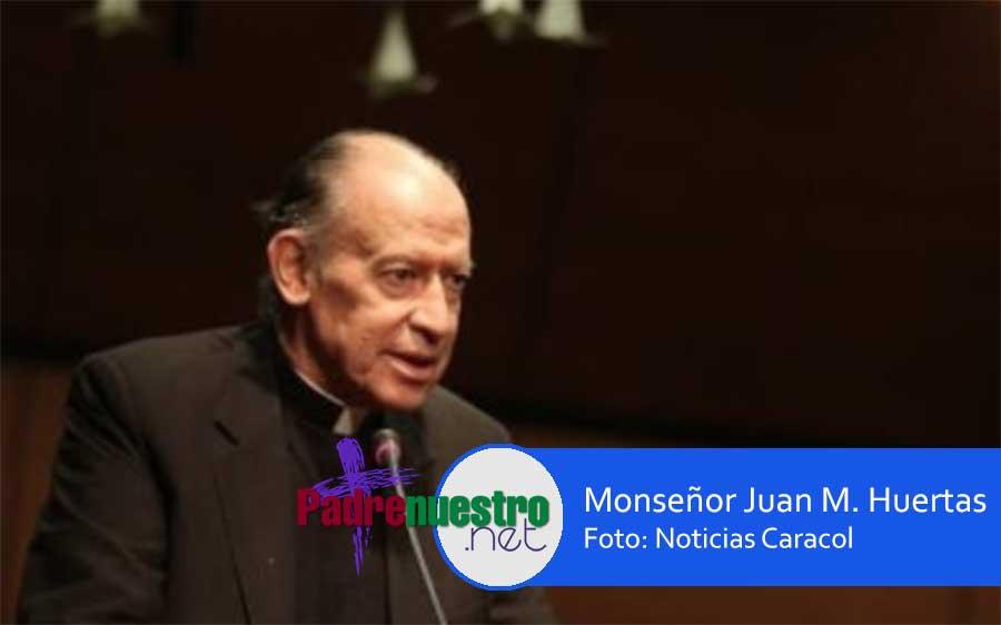 FALLECE Monseñor Juan Huertas Escallón