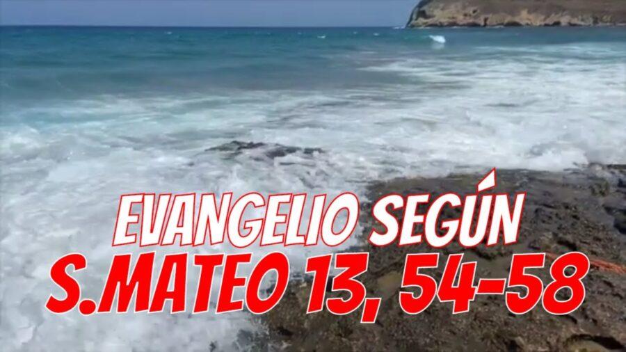 Mateo 13 54-58