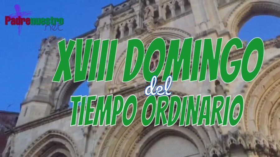 Guión Domingo XVIII del Tiempo ordinario