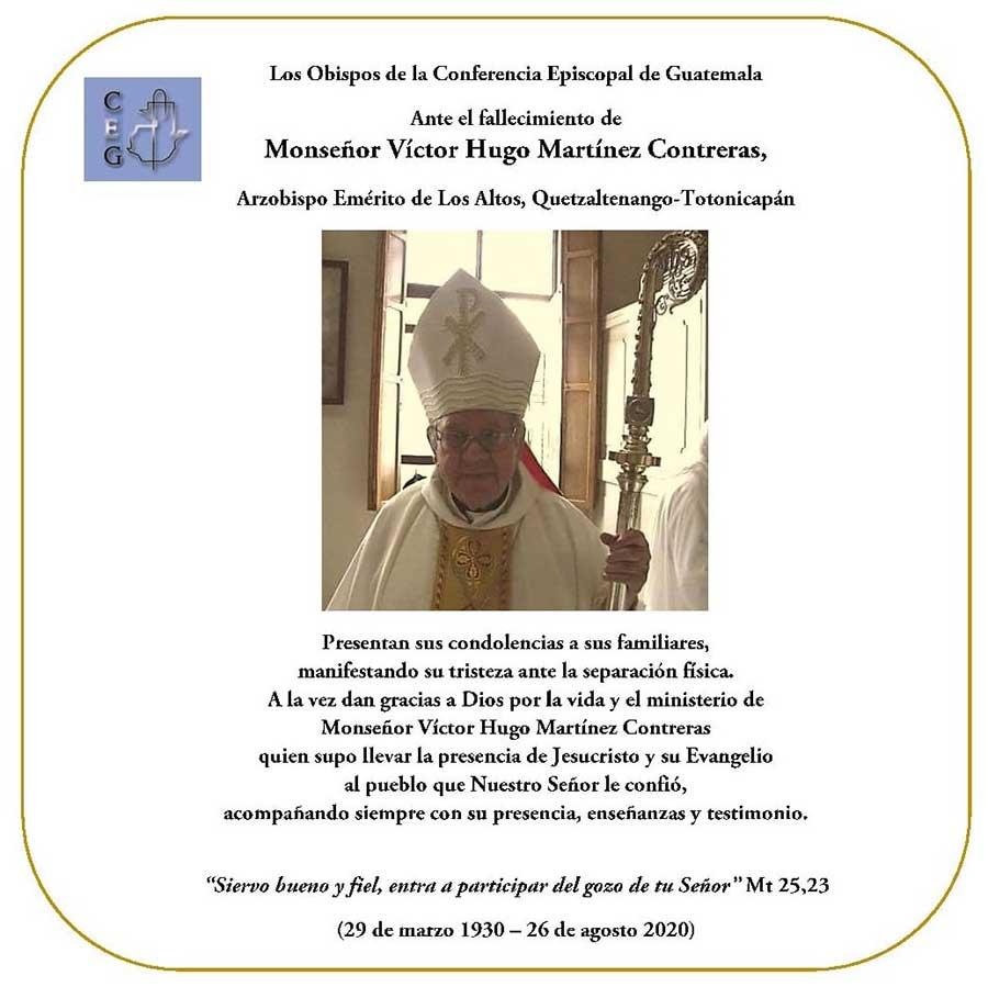 Fallece el primer Arzobispo de Los Altos