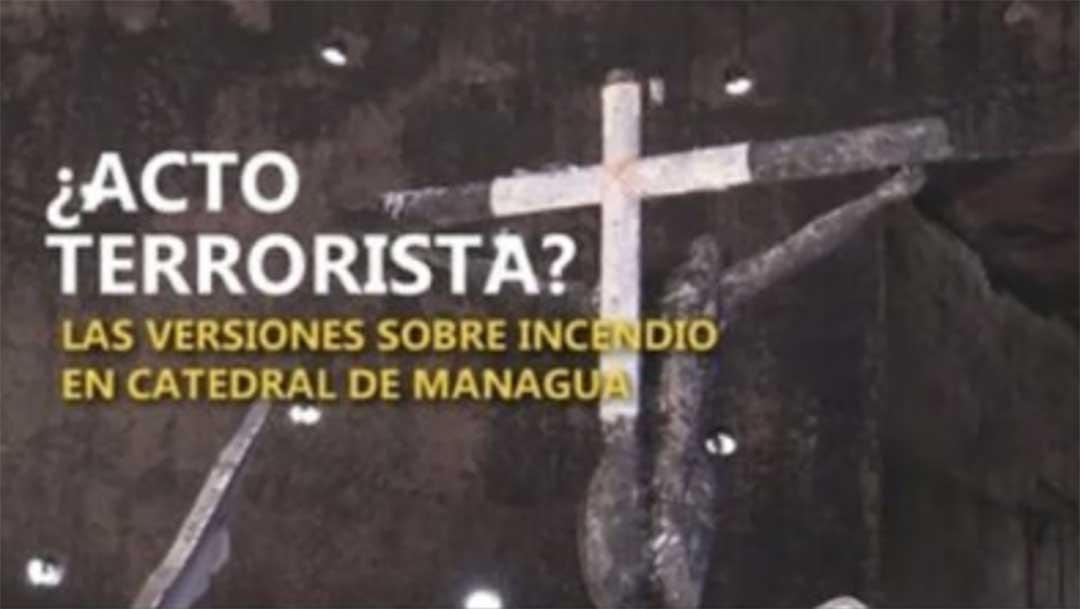 Atentado catedral de Managua