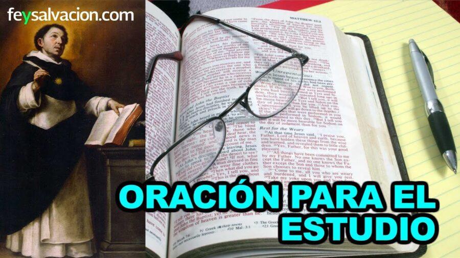 Oración Dame fuerzas para estudiar