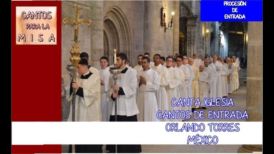 Canta iglesia (letra y acordes) - Canciones de misa