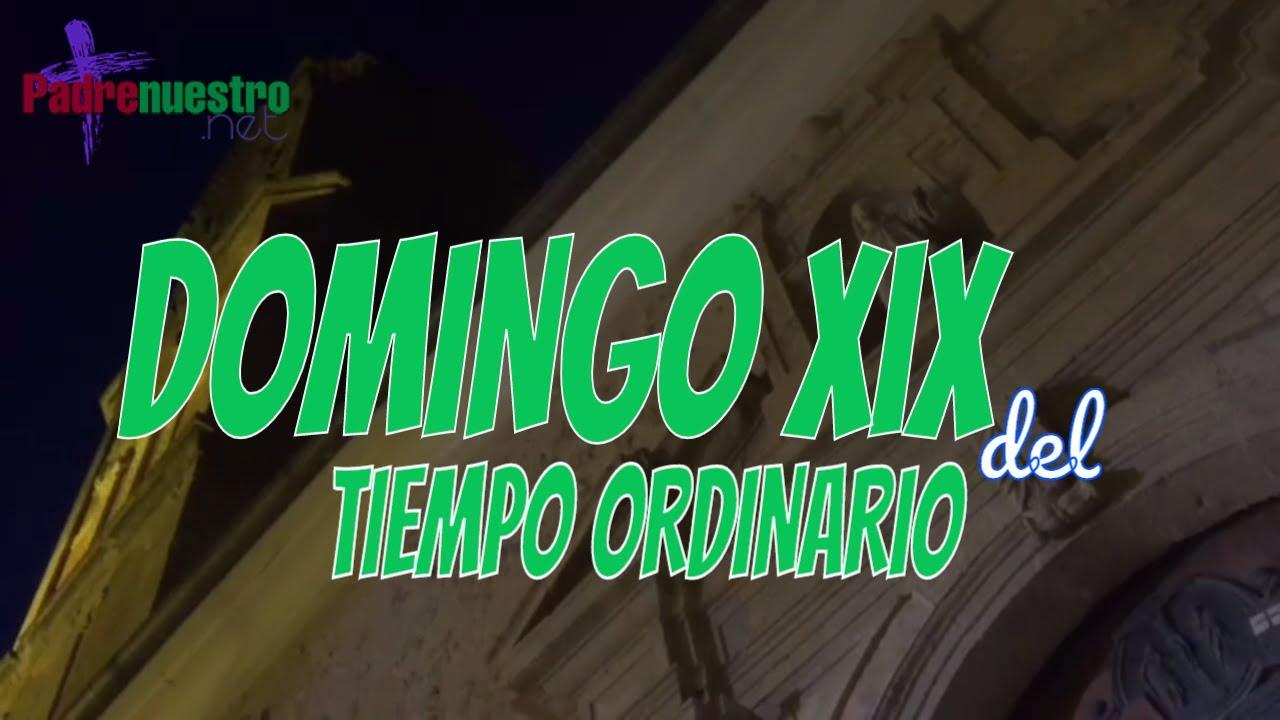 Domingo XIX del Tiempo ordinario