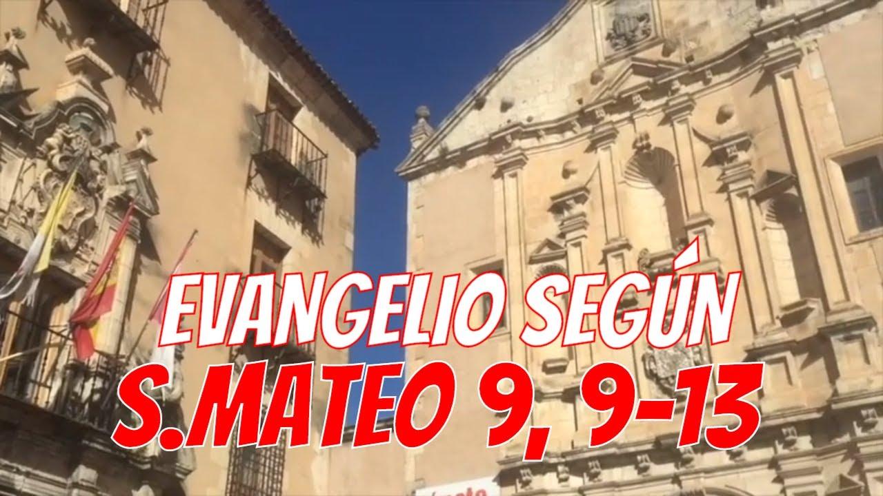 Mateo 9, 9-13