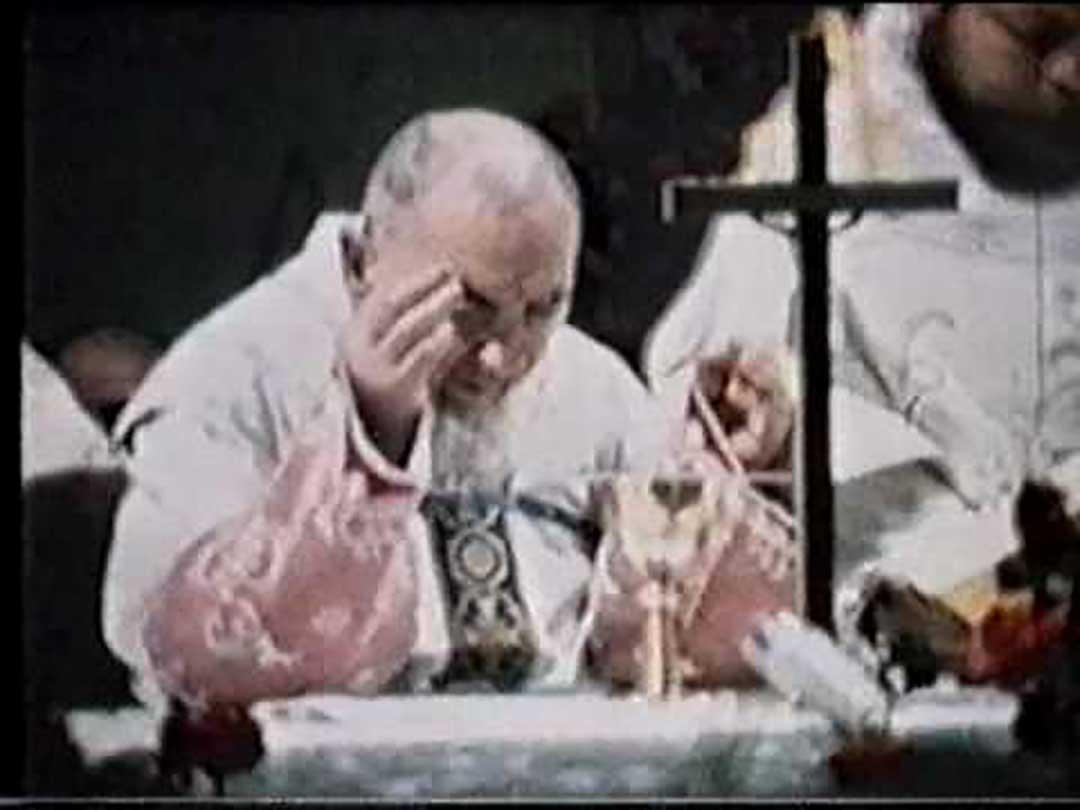 Ultima misa del Padre Pio