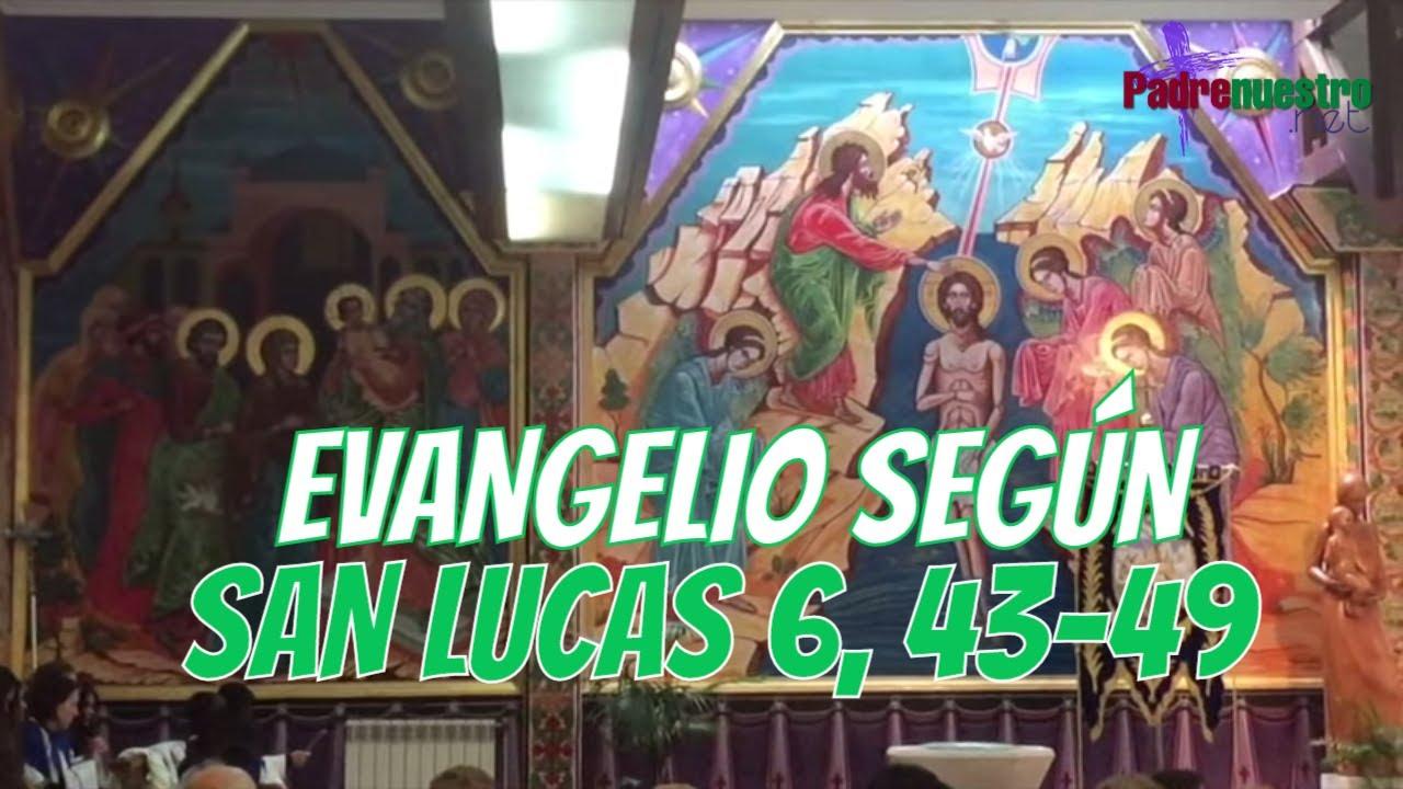 Lucas 6, 43-49