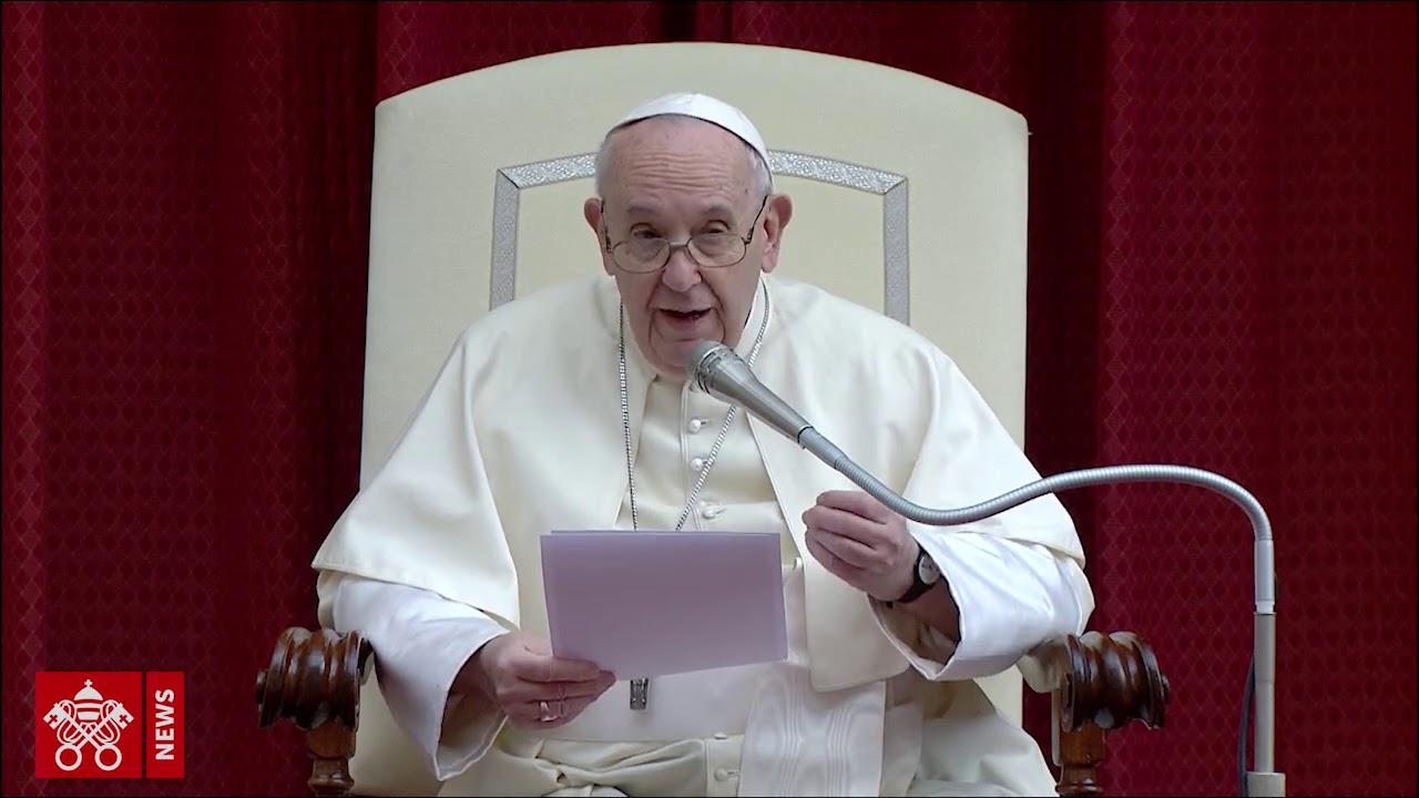 Catequesis del Papa Francisco sobre sanar el mundo
