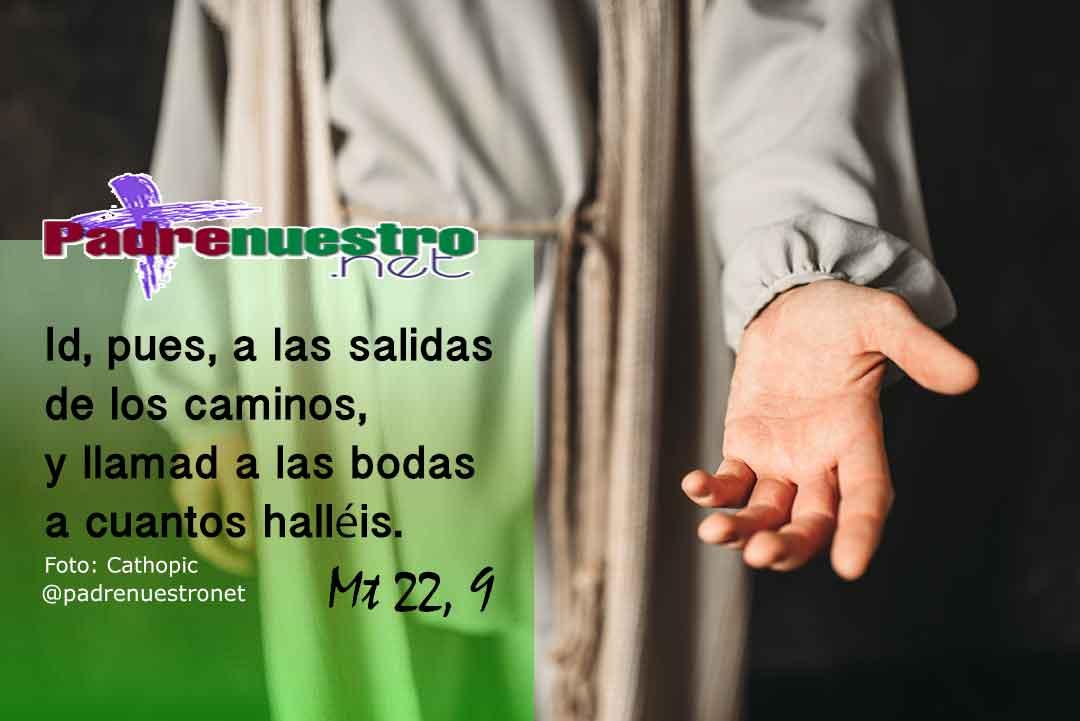 Mateo 22, 9