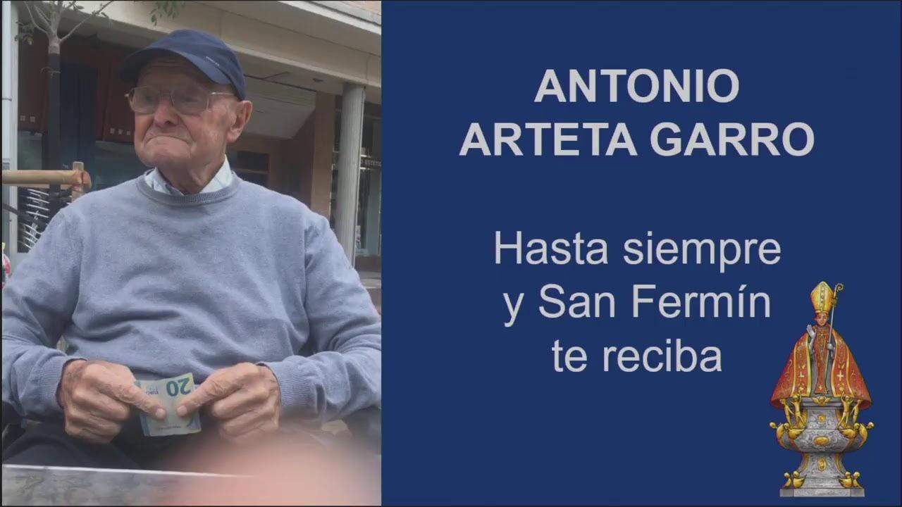 Rosario y misa funeral por el sacerdote Antonio Arteta Garro