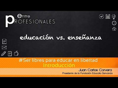 Ser libres para educar en libertad