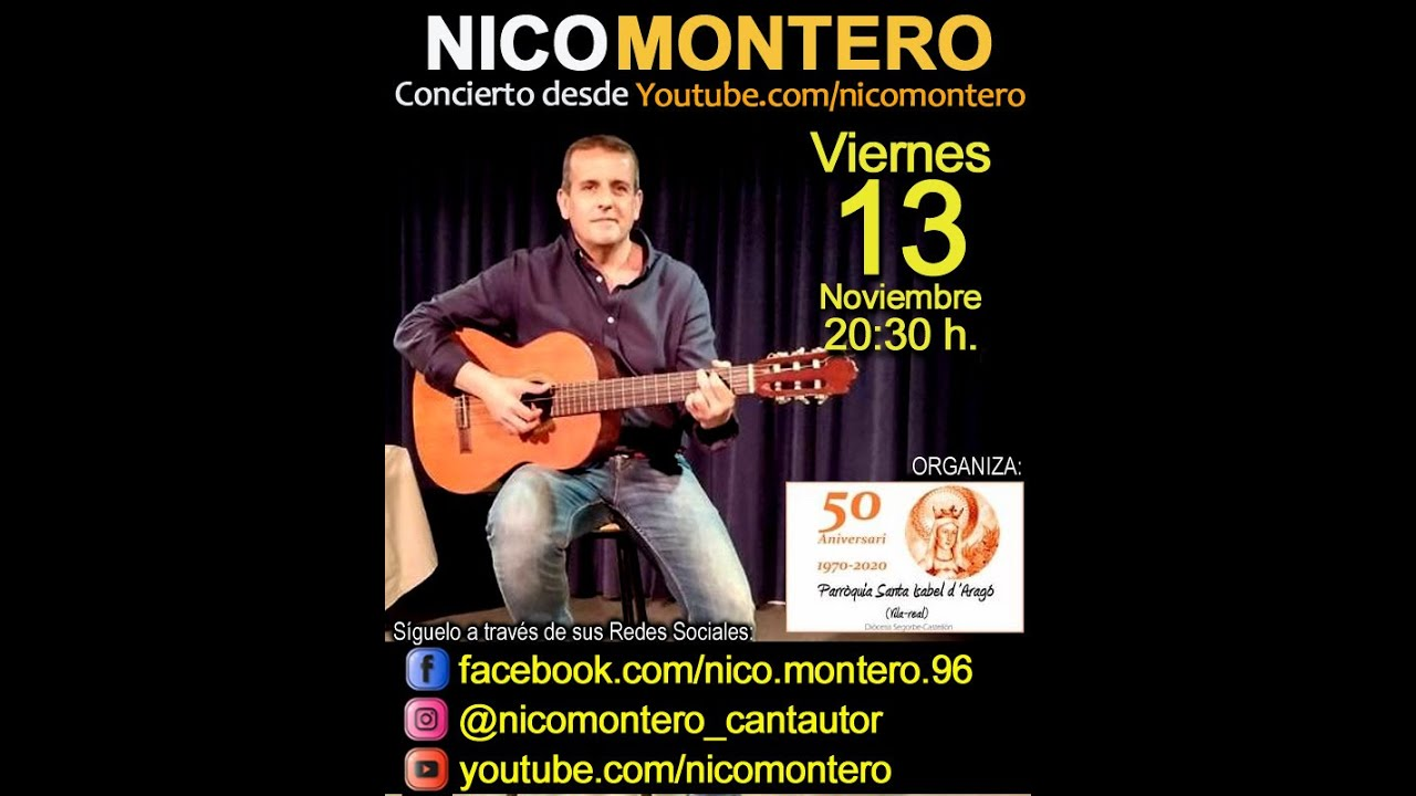 Concierto de Nico Montero