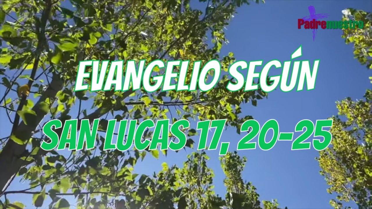 Lucas 17 20-25