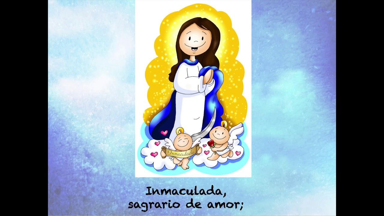 Canto en la Fiesta de la Inmaculada Concepción