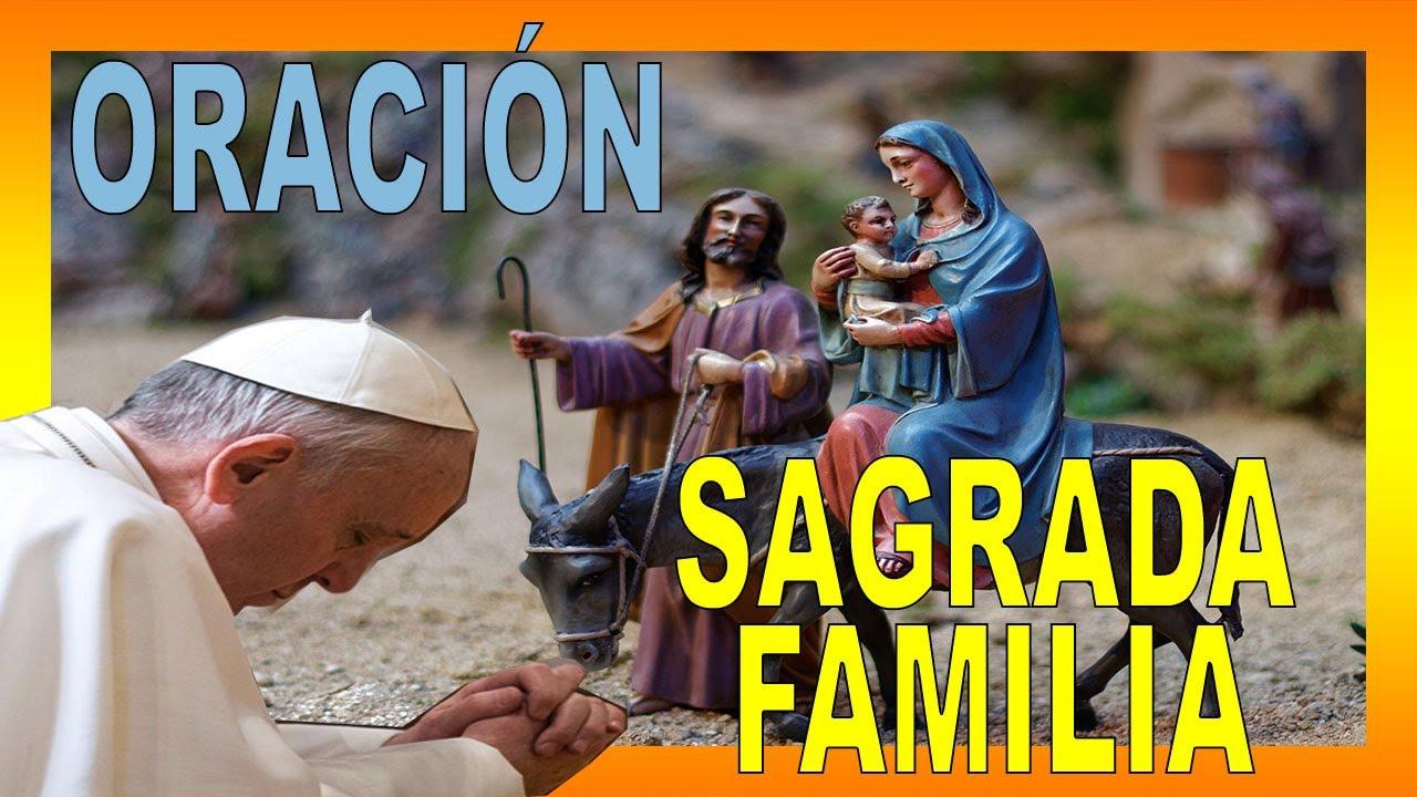 Oración del PAPA FRANCISCO por las FAMILIAS