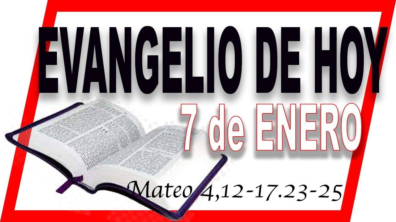 Evangelio del día 7 de enero con el Padre Guillermo Serra