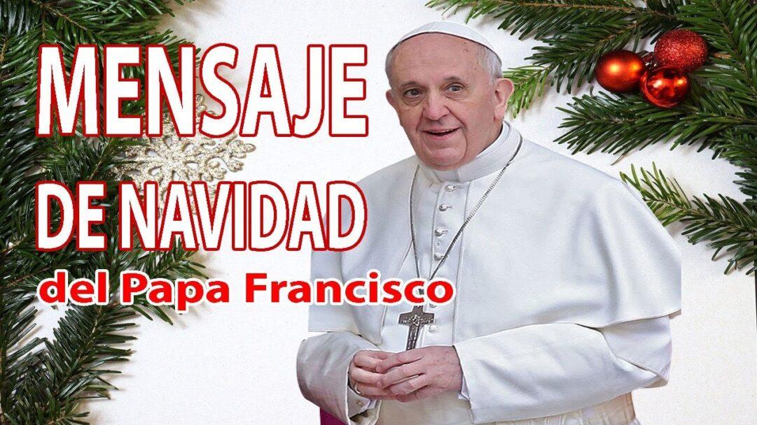 Mensaje de Navidad del Papa Francisco