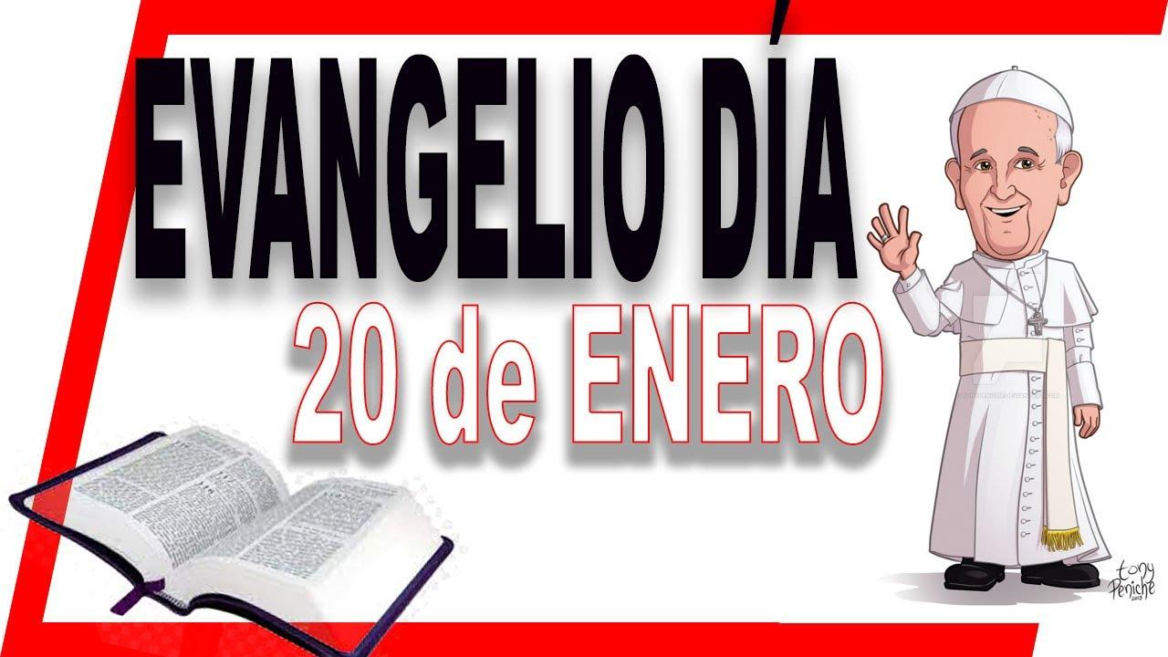 Evangelio del día 20 de Enero - Segunda semana del tiempo ordinario ciclo B