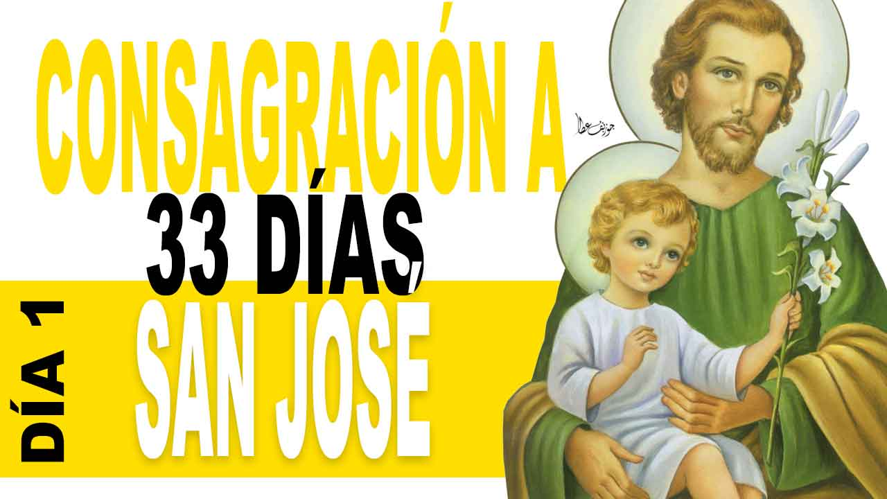 33 días de consagración a San José