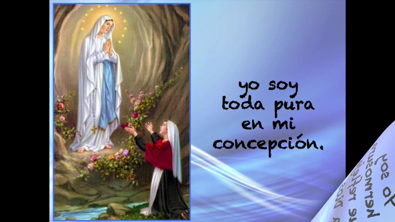 Canta con Maxi a la Virgen de Lourdes - 11 de Febrero