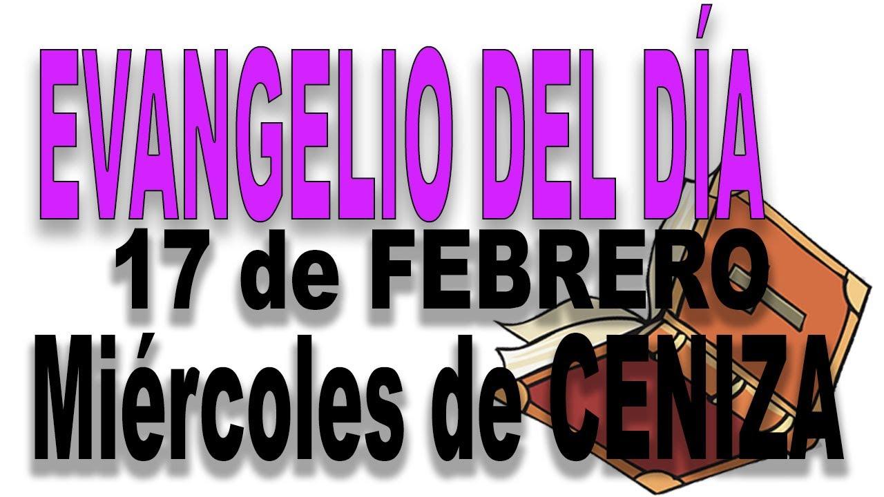 Evangelio del día 17 de febrero con el Padre Guillermo Serra - Miércoles de ceniza
