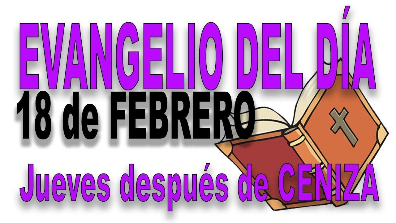 Evangelio del día 18 de febrero con el Padre Guillermo Serra