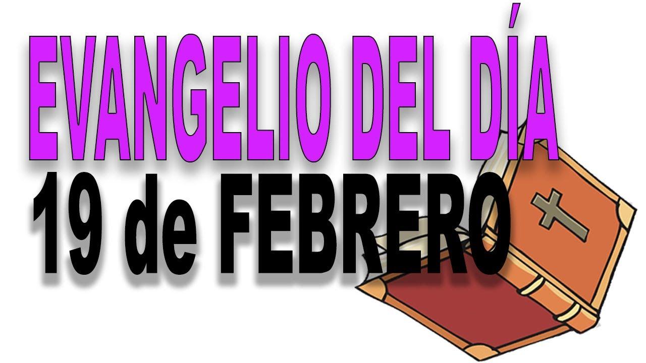 Evangelio del día 19 de febrero con el Padre Guillermo Serra