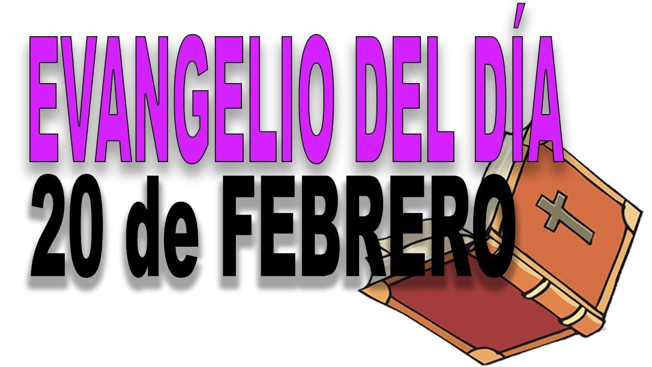 Evangelio del día 20 de febrero con el Padre Guillermo Serra