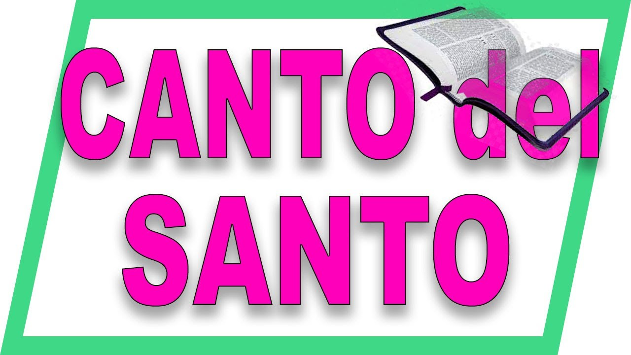 Canto del SANTO en latín con música gregoriana
