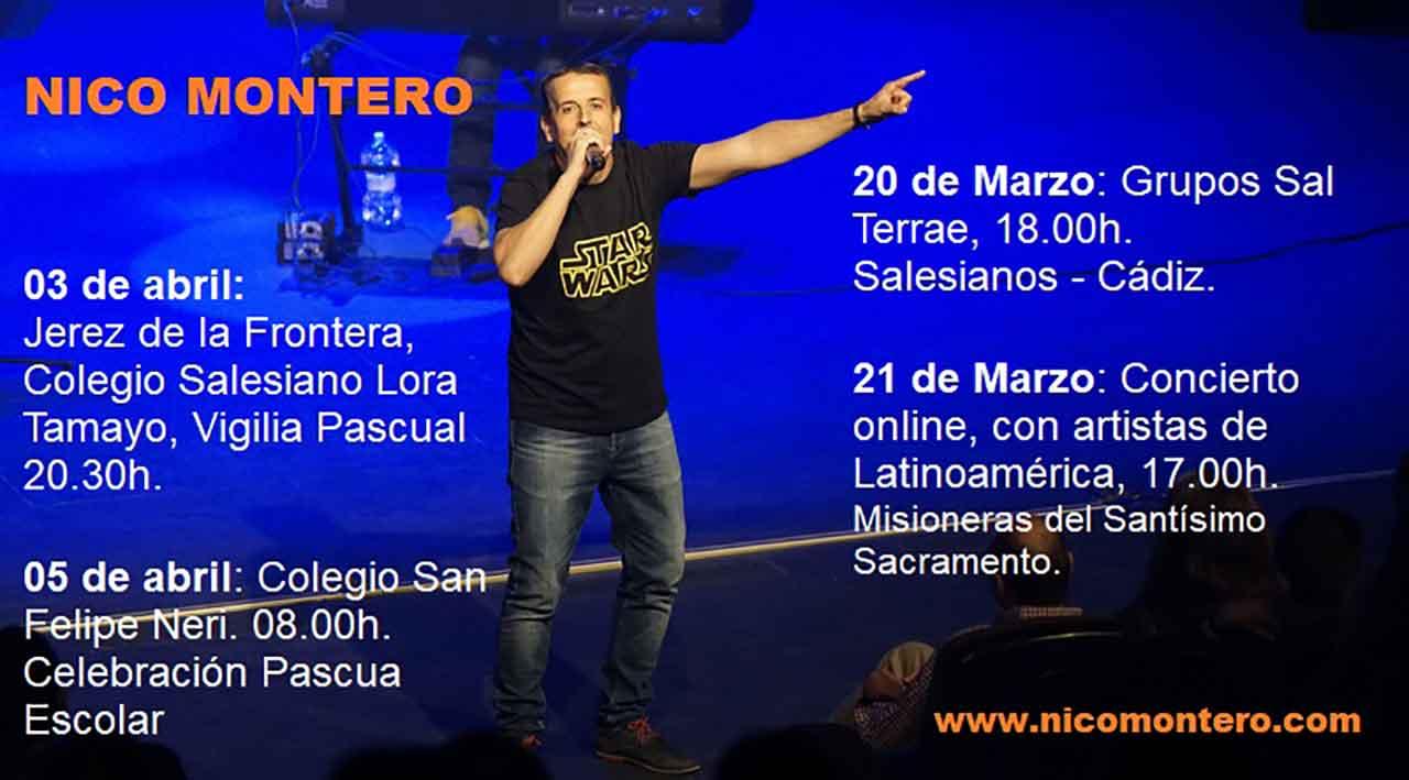 Conciertos de Nico Montero